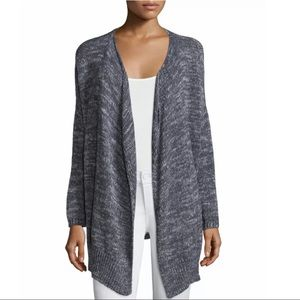 Joie Nare Marled Draped Cardigan Sweater